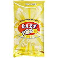Eazypop - Palomitas con mantequilla - 100 g - Pack de 3 unidades
