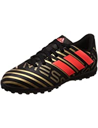 adidas Unisex Kids' Nemeziz Messi Tango 17.4 TF Footbal Shoes, Black