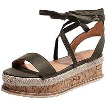 Sandalias mujer verano 2018, Covermason Las sandalias de las señoras cruzan los zapatos