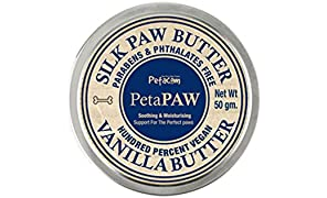 Petacom Silk Paw Butter with Shea Butter for Soft Paws,Vanilla Butter, 50 g