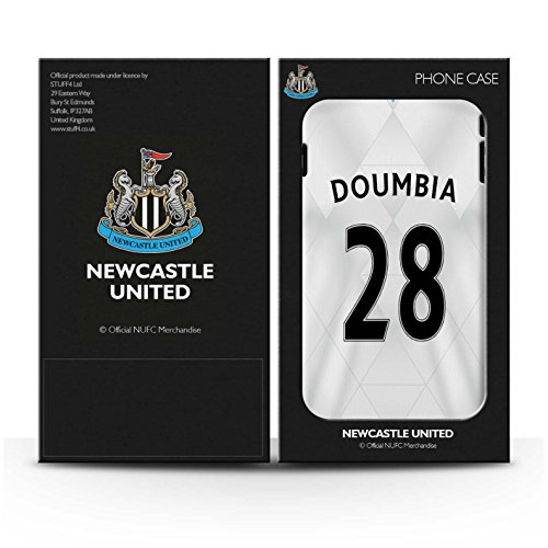 Offiziell Newcastle United FC Hülle / Gel TPU Case für Apple iPhone 6S / Pack 29pcs Muster / NUFC Trikot Away 15/16 Kollektion Doumbia
