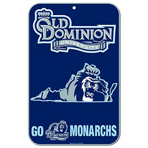 Wincraft 576835 Wandschild Old Dominion Monarchs, offizielles NCAA, 28 x 43 cm Dominion Baseball