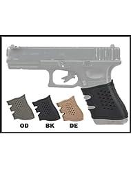 universal pistola caucho empuñadura guante para GLOCK (Negro)