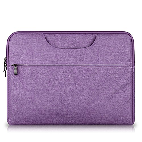YiJee Sleeve per Laptop Computer Portatile Macbook Air Pro con Display Retina 11.6-15.6 Pollici 14 Inch Porpora