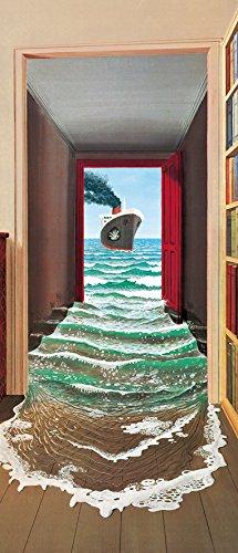 REINDERS Das Geheimnis – Türposter 2-teilig 86 x 200 cm
