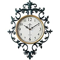 oofyhome wanduhr europische retro uhr mode kunstuhr digitaluhr stille nicht tickende uhr wanduhr fr wohnzimmer - Tickende Uhr Schlafzimmer