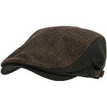 WITHMOONS Coppola Cappello Irish Gatsby Two Tone Block Summer Newsboy Hat  Flat Cap AC3046 c1c5998863f7