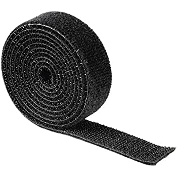 1 m Klettverschluss beidseitig, 20 mm, Klettband, Back to