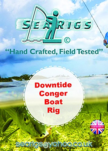 downtide Conger (Aale) Rigs (Boot) Rig X5/X10 Packungen (Aal Rig)