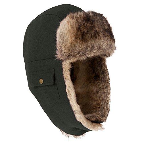 Siggi Unisex Men Winter Trooper Trapper Hunting Russian Bomber Fur Hat  Ushanka - Buy Online in Oman.  ba2c75c27a6