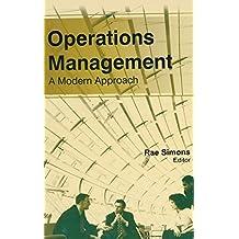 Operations Management: A Modern Approach