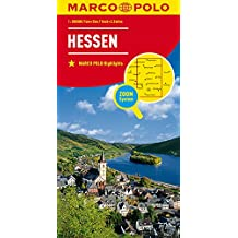MARCO POLO Karte Deutschland Blatt 6 Hessen 1:200 000 (MARCO POLO Karten 1:200.000)