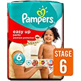 Pampers Easy Ups Couches Taille 6 Carry Pack de 19 par paquet