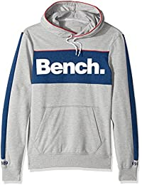 Bench Men's Mottled Hoodie with Front Print
