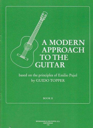 BROEKMANS & VAN POPPEL B.V. TOPPER GUIDO - A MODERN APPROACH TO THE GUITAR VOL.2 Méthode et pédagogie Guitare Guitare acoustique
