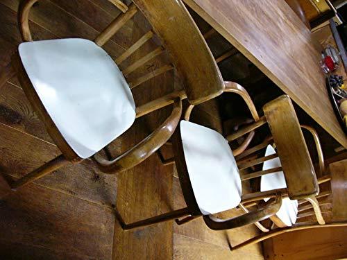 FidgetGear Stuhl Stühle Armlehnstuhl Cafehaus Bauhaus Holz Schreibtisch Kaffeehaus Cognac Show One Size