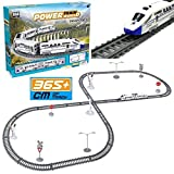 Rexco Large 35 Piece Toy Starter Bullet Train Track Set Railway Lines Carriage