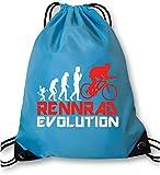 EZYshirt® Rennrad Evolution Turnbeutel