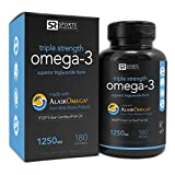 Sports Research Omega-3 Fish Oil 1250mg ...