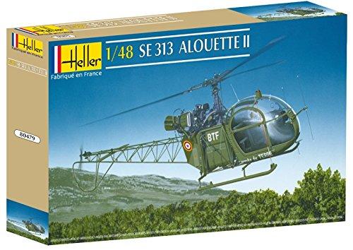 Heller 80479 - modellino da costruire, elicottero militare 313, scala 1:48 [importato da francia]
