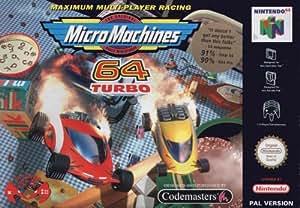Micro machines 64 Turbo - Nintendo 64 - PAL
