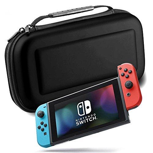 Nintendo commutateur Jeu Sac de protection Portable étui de transport, Noir