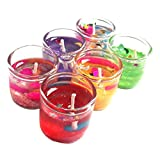 #7: Vanshika House_Jelly Glass Jar Candles for home decoration - 18Pcs Set