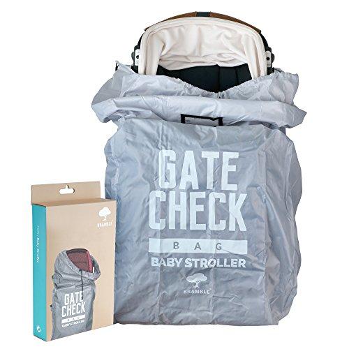 Bolsa de Transporte Protectora para Silla de Paseo de Bebé, Niños - Funda, Bolso de Viaje para Cochecito Infantil y Accesorios - Almacenamiento para Avión, Identificación Fácil en el Aeropuerto