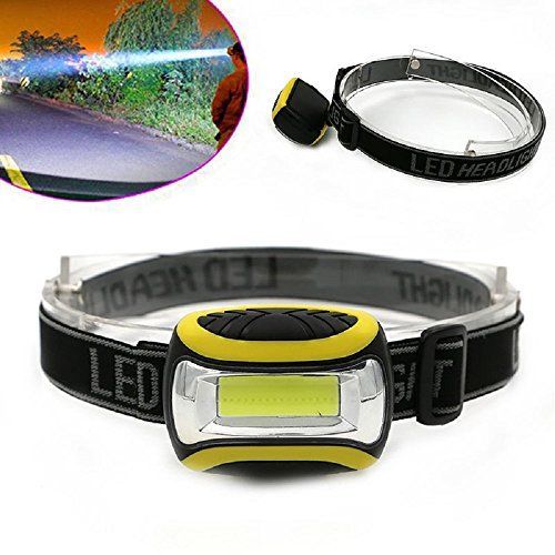 Tonsee Super Hell Wasserdichte COB LED 3 Modi Scheinwerfer AAA Taschenlampe Outdoor