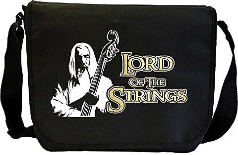 Double Bass Lord Strings Gandalf - Sheet Music Document Bag Sacoche de Musique MusicaliTee