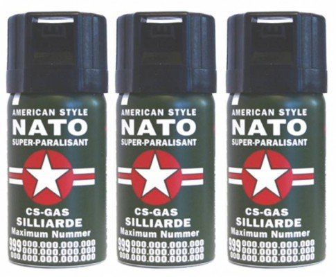 3-Stck-CS-GAS-NATO-Trnengas-40ml-Abwehrspray-CS-GAS