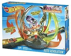 Hot Wheels Fdf26 Roto Revolution Track Set
