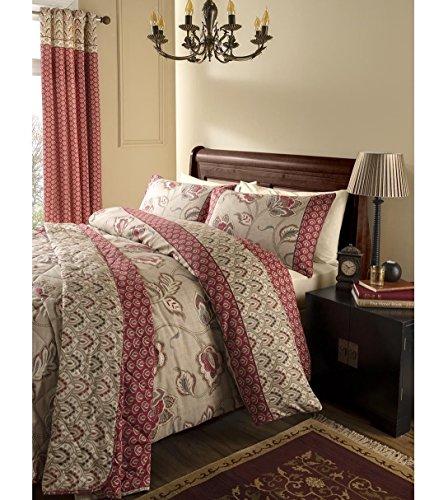 Catherine Lansfield Kashmir Easy Care Bedspread Multi, 200x200cm