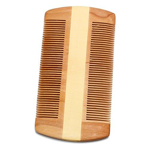 EgBert Anti-statica in legno naturale baffi barba spazzolatura pettine pennello tasca