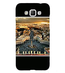 Takkloo city view beautiful view of city,People in the city, white Statues, Cloudy sky) Printed Designer Back Case Cover for Samsung Galaxy Grand Max G720