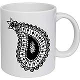 Azeeda 320ml 'Türkisches Muster' Kaffeetasse / Becher (MG00003557)