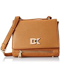 Diana Korr Women's Sling Bag (Brown) (DK106SBRA)