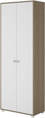 BRV MÓVEIS Multipurpose Cabinet, Oak/White, BAM 02-47