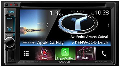 Kenwood DNX5160BTS Navitainer mit 15,7 cm Wide VGA-Monitor und Bluetooth schwarz