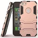 LAPOPNUT Coque iPhone 6 Plus 6S Plus Étui Cool Armor avec Béquille Résistant aux...