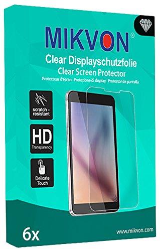 MIKVON 6X Clear Bildschirmschutzfolie für Nixon The Mission Schutz Folie - Original Verpackung mit Zubehör