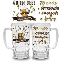 Jarra de cerveza personalizada regalos