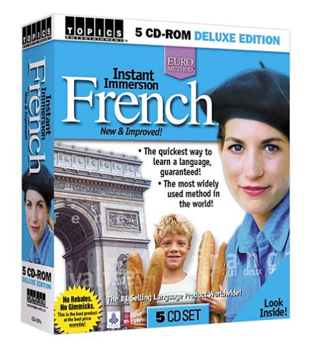 Instant Immersion French (5 CD-ROM Set)