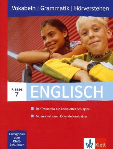 Englisch 7. Klasse, Vokabeln | Grammatik | Hörverstehen