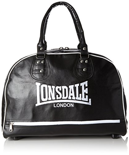 Lonsdale Cruiser Leather Boxing Martial Arts Equipment Holdall BagBlack black Size:M