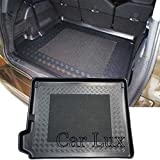 Car Lux AR02989 - Alfombra Cubeta Protector cubre maletero a medida para Grand Picasso