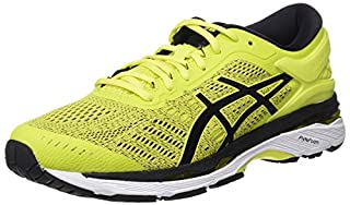 ASICS Men's Gel-Kayano 24 Running Shoes, Yellow (Sulphur Spring/Black/White 8990), 6.5 UK 40.5 EU (B077GHR9MM) | Amazon price tracker / tracking, Amazon price history charts, Amazon price watches, Amazon price drop alerts