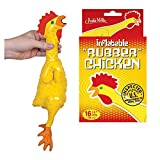 Any serious situation can be deflated by the introduction of a rubber chicken, but traditional rubber chickens are so impractically large for daily use. This vinyl Emergency Inflatable Rubber Chicken slides easily into any bag or purse waiting to be ...