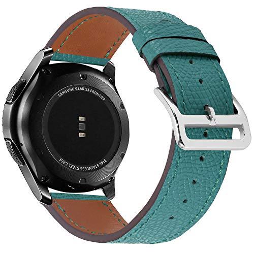 BarRan Samsung Galaxy Watch 46mm Cinturini, 22MM Cinturino in Retro Compatibile Samsung Gear S3 Frontier/Classic/Samsung Gear 2/Neo/Live/Moto 360 2nd 46mm/Pebble Time/LG G Watch W100/W110/Urbane