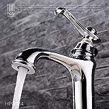 Willsego Wasserhahn Alle Kupfer Heiße und Kalte Antike Tisch Becken Wasserhahn Erhöhung Bad Becken Waschbecken Kunst Becken Becken Wasser Drachen (Farbe : -, Größe : -)